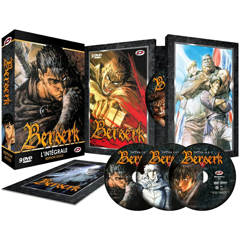 アニメ, その他  TV DVD-BOX DVD BERSERK 25 600 import PAL 2 PS4OK