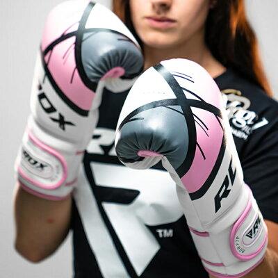 ボクシンググローブF7左右セット2個入りRDXジムトレーニング練習試合おしゃれオシャレ初心者上級者レッド赤ゴールド金色ブルー青ピンク男女兼用メンズレディースMayaハイドレザー耐久性正規品