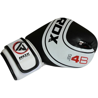 ボクシンググローブキッズ子供用両手セットジュニアRDX6オンス4オンスホワイトブラック子どもムエタイ格闘技MMA左右セット衝撃吸収高品質安心安全白黒調節可能通気性送料無料あす楽
