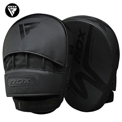 ボクシングミット2個セットジムトレーニング長寿命高品質RDXボクササイズフィットネスエクササイズ初心者上級者軽い丈夫快適性通気性オシャレおしゃれ空手レッドブラック黒赤