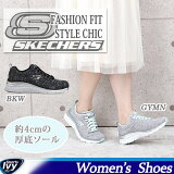�����å��㡼��SKECHERSFashionFit-StyleChic12703-BKW/GYMN��2016ǯ���߿���ۥ��˥��塼�������奢�륹�ˡ�����