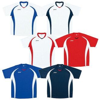 [asics-亞瑟士]短袖遊戲襯衫/制服[足球服裝/室內五人足球服裝]