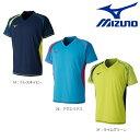 MIZUNO ミズノ ジュニア 半袖ゲームシャツ ユニホーム テニス ソフトテニス バドミントン ウェア