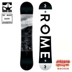 【最終SALE★】 AGENT ROCKER 155 【ROME SDS-ローム】 14/15 スノーボード用品/板 【激安SALE/セール】