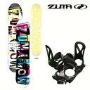 ZUMA ツマ ジュニア スノーボード ビンディング 2点セ...