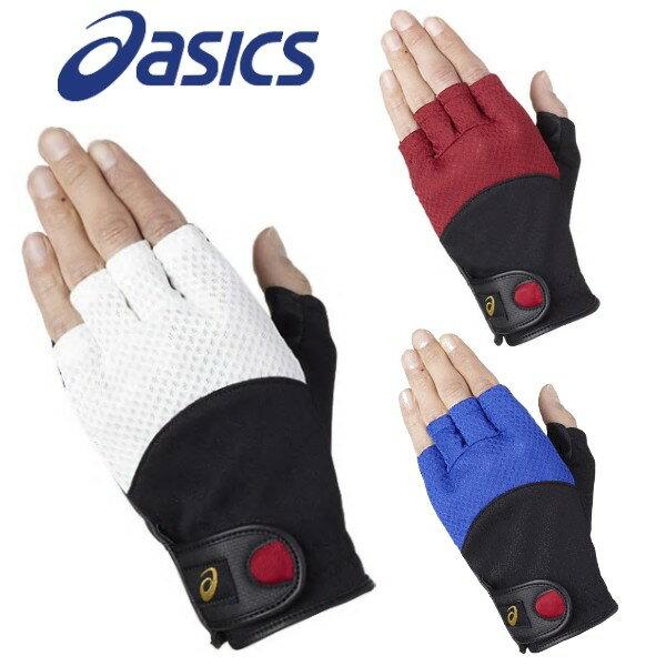 asicsアシックスグラウンドゴルフグローブ手袋磁石付き左右一組グランドゴルフ用品