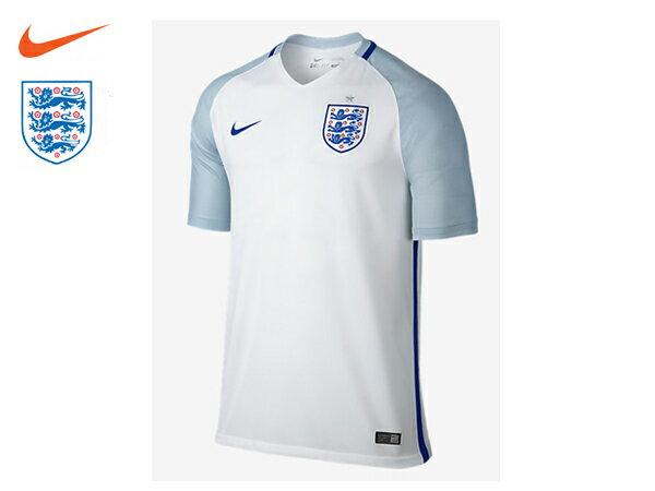 ナイキ:【メンズ】2016 イングランド スタジアム ホーム【NIKE サッカー ナショナルチーム ゲームシャツ】