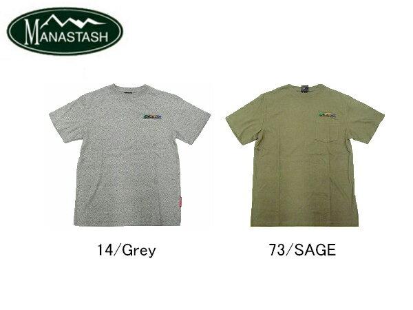 MANASTASH ヘンプ ポケット Tシャツ