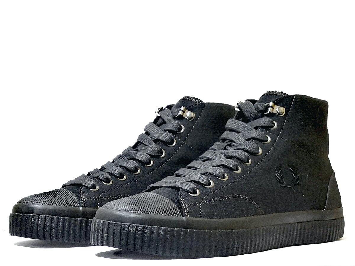 メンズ靴, スニーカー  FREDPERRY HUGHES MID SHOWER RESISTANT CANVAS 191013 191013