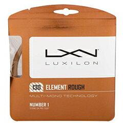 ルキシロン LUXILON ELEMENT ROUGH 130 テニス 硬式ガット WRZ997130