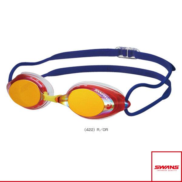 【水泳 アクセサリ・小物 スワンズ】SRX/スイムゴーグル/クッション付レーシングモデル/ミラーモデル(SRX-MPAF)