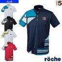 【テニス・バドミントン ウェア(メンズ/ユニ) ローチェ(roche)】ポロシャツ/メンズ(R7T02S)