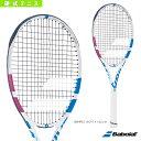 【テニス ラケット バボラ】 PURE DRIVE TEAM WH/ピュアドライブチーム ホワイト(BF170387)限定モデル