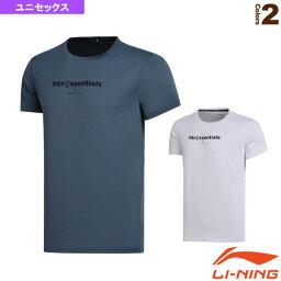 【テニス・バドミントン ウェア(メンズ/ユニ) リーニン】 トレーニングTシャツ/ユニセックス(AHSN009)