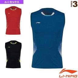 【テニス・バドミントン ウェア(メンズ/ユニ) リーニン】 中国ナショナルチームゲームシャツ/ユニセックス(AVSN293)