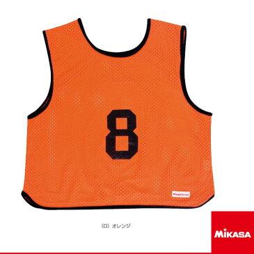 【オールスポーツ アクセサリ・小物 ミカサ】ゲームジャケット/ソフトバレー用/レギュラーサイズ/1番〜15番 単品/オレンジ(GJSV)