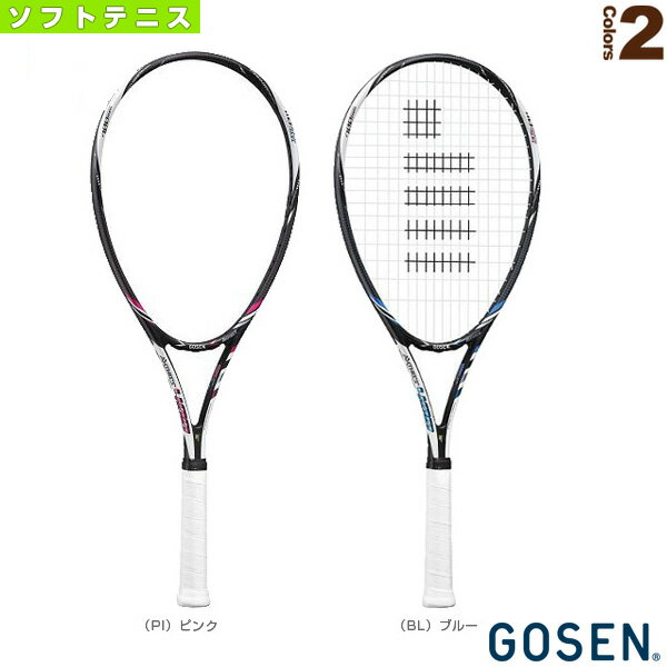 【ソフトテニス ラケット ゴーセン】AXTHIES 400/アクシエス 400(SRA4)