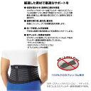 【オールスポーツ サポーターケア商品 マクダビッド】 スリム バックサポート/腰用/ミドルサポート(M497) 3