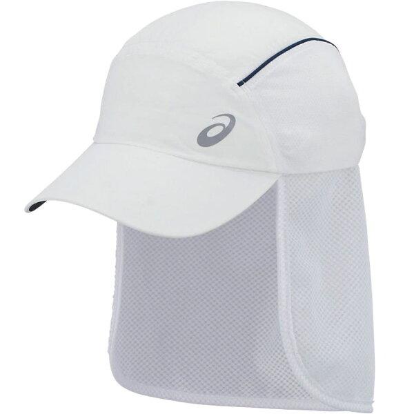 アシックスランニングサンキャップランニングキャップ帽子XXC202-01