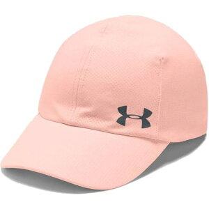 アンダーアーマー レディース ランニングキャップ UA Run Cap 帽子 トレーニング 1351273 845