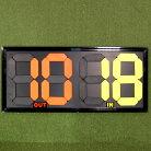 選手交代ボードON+CloudNine/オンクラウドナインBallClubオリジナルサッカーレフェリー用品OCN-122