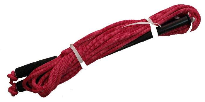 アルミグリップ付蛍光色カラーロープ グループジャンプロープ(チームジャンプ) 橙 10m 9333DAI 運動 冬 学校体育