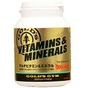 ゴールドジム サプリメント GGP マルチビタミン&ミネラル180粒 F2510 20SS