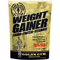 ゴールドジムサプリメントGGPウエイトゲイナー3KgF853020SS