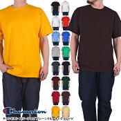 チャンピオン[CHAMPION]ワンポイントワッペンTシャツ全11色/メイン画像T425