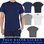 POLORALPHLAURENサーマル半袖Tシャツ[ポロラルフローレン]P409-1