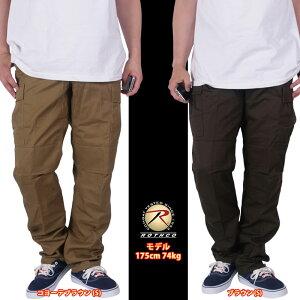 ROTHCOロスコミリタリーパンツカーゴパンツストリートファッション定番メンズプレーンカラー_4