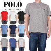 POLORALPHLAURENポロラルフローレンワンポイントベーシックTシャツ刺繍シンプルビッグサイズ大きいサイズラルフポロ定番コットン全6色ブラックホワイトグレージャージーTシャツ