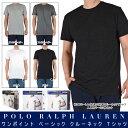 POLO RALPH LAUREN ポロラルフローレン / PLAIN CREW NECK TEE 3SET PACK BLK,WHT プレーン クルーネック Tシャツ 3枚セット ブラック…