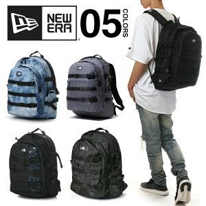 ニューエラ リュック メンズ NEW ERA バッグ リュックサック バックパック 通学 大容量 おしゃれ ブランド 35L NEWERA CARRIER BAG 黒 ブラック グレー 紺 ネイビー 迷彩