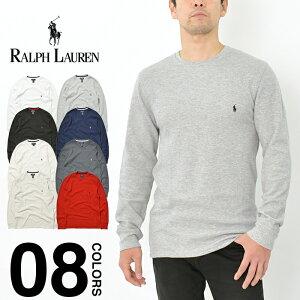 ラルフローレン 長袖 Tシャツ メンズ レディース サーマル 大きいサイズ POLO RALPH LAUREN ポロ 長袖Tシャツ ロンT クルーネック ロングスリーブ USAモデル インナー ビッグサイズ ゆったり ブランド おしゃれ プレゼント ワンポイント ブラック ネイビー グレー P551