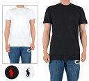 【ネコポス対応可】ラルフローレン Tシャツ 半袖 メンズ レディース 無地 ワンポイント POLO RALPH LAUREN 丸首 コットン 大きいサイズ Tシャツ ショートスリーブ 黒 白 S M L XL XXL