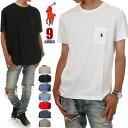ラルフローレン ポケット Tシャツ メンズ レディース POLO RALPH LAUREN 半袖 Tシャツ ラルフ 無地 大きいサイズズ ロゴ USA ストリート ファッション ヒップホップ 白 黒 赤 紺 グレー