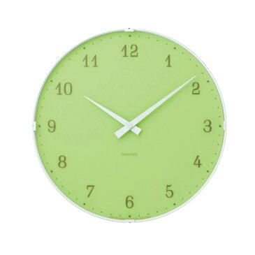 あす楽 【在庫処分】 Lemnos レムノス Ambient アンビエント グリーン PC10-11 GN ウォールクロック 掛け時計 置時計 インテリア 壁掛け時計