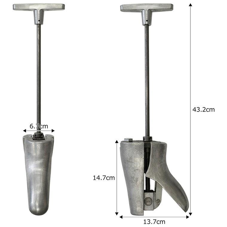 あす楽  ウエスタンストレッチャー シューズストレッチャー ブーツの甲伸ばし 単品 1個 ブーツストレッチャー フィッター ウエスタンブーツ エンジニアブーツ ペコスブーツ レッドウィングにも使えます