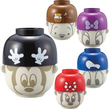 サンアート ディズニー 汁椀・茶碗セット 大 SAN2307 ミッキーマウス/ミニーマウス/ドナルドダック/デイジーダック/プーさん Disney おわん おちゃわん ご飯 味噌汁
