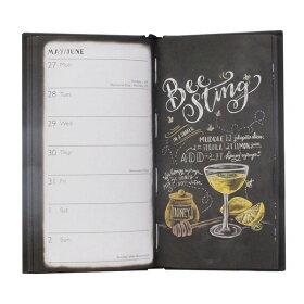 リリーアンドバルダイアリー2019カクテルスリムダイアリーLILY&BAL2019CocktailSlimDiary手帳ブランドデザイナーズスケジュール帳UKイギリスD18518ギフトプレゼント