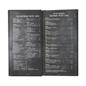 RIFLEPAPERCO.ライフルペーパーAGENDABOOK:Navyアジェンダブックネイビー手帳ブランドデザイナーズスケジュール帳USAアメリカPLH005ギフトプレゼント