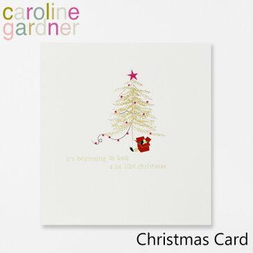 キャロラインガードナー グリーティングカード クリスマス カード caroline gardner Christmas Cardブランド デザイナーズ カード UK ロンドン PNT511ギフト プレゼント