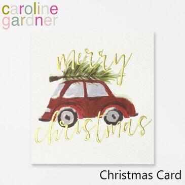 キャロラインガードナー グリーティングカード クリスマス カード caroline gardner Christmas Cardブランド デザイナーズ カード UK ロンドン PNT513ギフト プレゼント