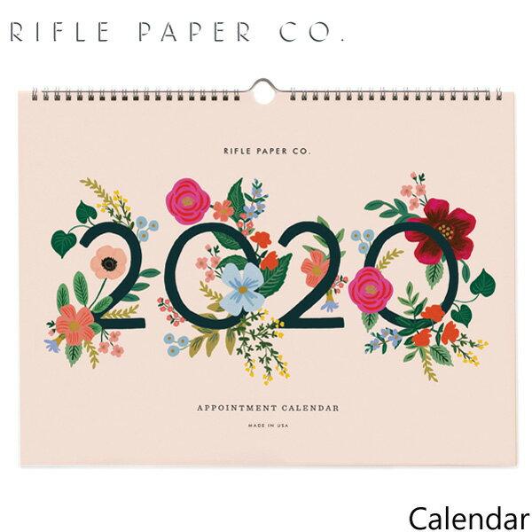 ライフルペーパー 壁掛け カレンダー ローズアポイントメント 2020 カレンダー RIFLE PAPER CO. 2020 WILD ROSE APPOINTMENT CALENDARブランド デザイナーズ USA アメリカ CAL056ギフト プレゼント