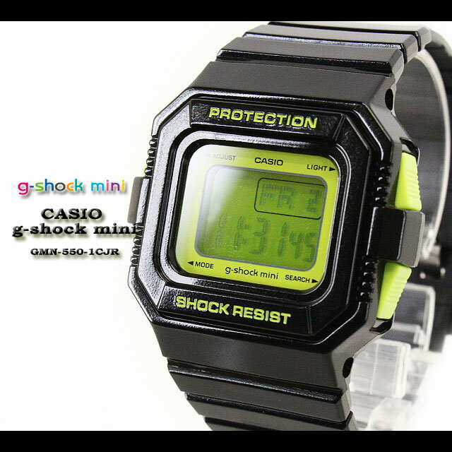 腕時計, レディース腕時計  G- G GMN-550-1CJRblackgreen CASIO g-shock mini