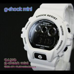 CASIO/G-SHOCKMINI【カシオジーショックミニ】腕時計GMN-691-7AJF/white&black【h-point100423】
