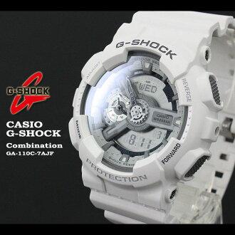 CASIO/G-SHOCK/g-shock g shock G shock G- shock [combination model] watch GA-110C-7AJF/matte white [fs01gm]