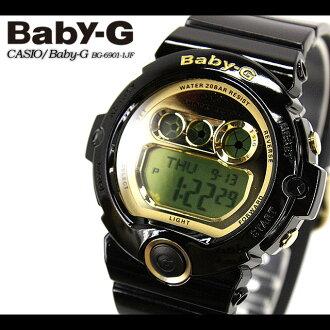 CASIO/G-SHOCK/g-shock g shock G shock G-shock Baby-G baby G women [DW-6900] BG-6901-1JF/black Lady's / watch [fs01gm]