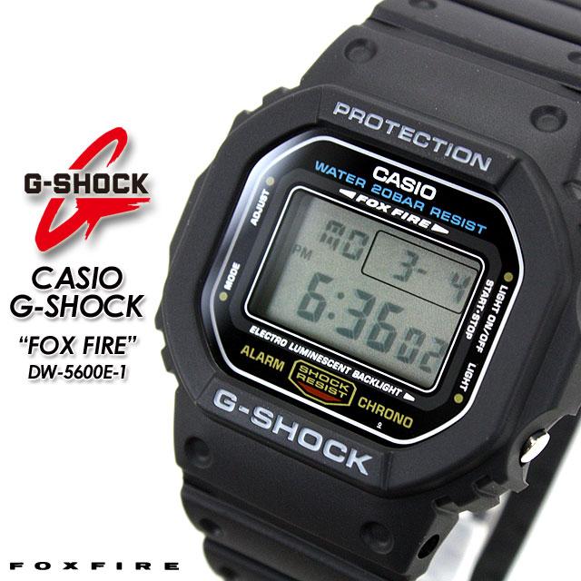 腕時計, メンズ腕時計 CASIOG-SHOCKg-shock g G G FOX FIRE DW-5600E-1 PIC